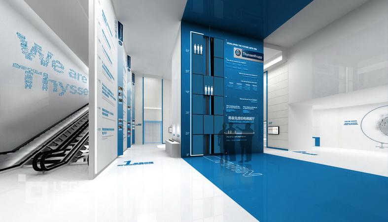 蒂森克虏伯电梯展厅